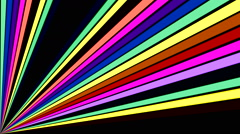 Color stick graphic equalizer 5 - stock footage