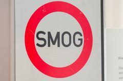 Smog, kohlendioxid, erderwärmung Kuvituskuvat