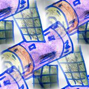 Stock Illustration of Mural  seamless satellite pattern background  textur