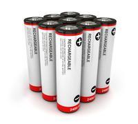 Stock Illustration of batteries