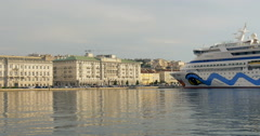 TRIESTE, ITALY: Trieste is a city and seaport in northeastern Italy, 4K Stock Footage