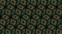 Neon Pattern 005 B Alternate Wave GTC 1080p - stock footage