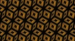 Neon Pattern 005 B Alternate Wave SC 1080p - stock footage