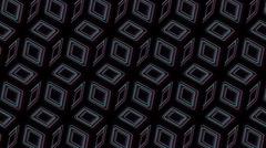 Neon Pattern 005 B Alternate Wave TC 1080p - stock footage
