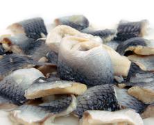 Marinated fish Stock Photos