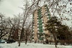 Eastern European Communist Architecture Buildings Establishments Establishing Sh - stock footage