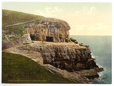 [Tilly Whim Caves, Swanage, England] Stock Photos