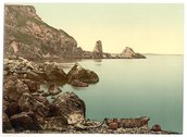 [Anstey's Cove, Torquay, England] Stock Photos