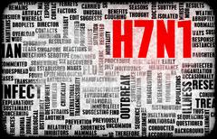 H7n1 Stock Illustration