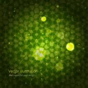 Green abstraction for your design Stock Illustration