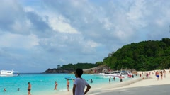 Similan Island Stock Footage