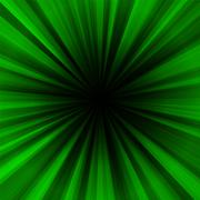 Deep green regular radial centralized background Stock Illustration