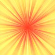 Soft yellow red regular radial centralized background Stock Illustration