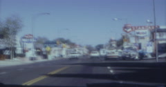 Crowley Lake California City 60s 16mm - stock footage