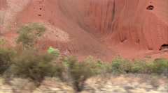 Magic of Aboriginal Uluru Stock Footage