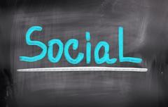 Stock Photo of social concept
