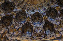 artwork in mosque - stock photo