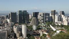 Rio de Janeiro Down Town - Buildings - Brazil Stock Footage