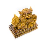 Stock Photo of chinese lion statue