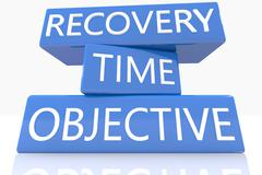 Stock Illustration of recovery time objective