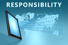 Responsibility Stock Illustration