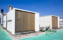 air conditioner - stock photo