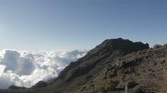 Ventisqueros Peak. Chirripó National Park Stock Footage