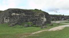 External view of Fort Douaumont, near Verdun, France. Stock Footage