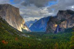 Yosemite valley Kuvituskuvat