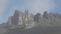 Crestones Peak close up Stock Footage