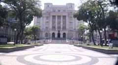 Santos City Hall- 01 Stock Footage