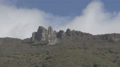 Crestones peak. Chirripo National Park Stock Footage