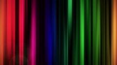 Stock Video Footage of Broadcast Epic Rainbow Vertical loop backdrop