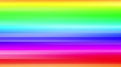 Rainbow colorful loop ready background Stock Footage