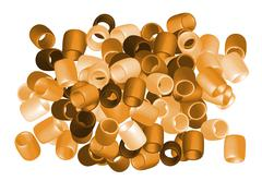 Beads cut out Stock Illustration