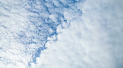 Flying above clouds and ocean Stock Footage