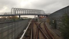0614 rails Stock Footage