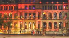 Color me Brisbane casino 4K Stock Footage