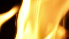 Flowing Fire | crisp close up | Background / Overlay Stock Footage