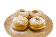 Hanukkah doughnuts Stock Photos