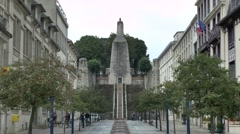 The Victory Monument in Verdun, France. Stock Footage