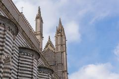cathedral of orvieto - stock photo