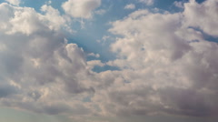 Clouds. Time Lapse Stock Footage