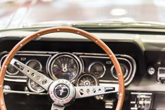 1966 Ford Mustang Interior Stock Photos