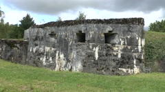 The Ouvrage of Froideterre, Douaumont, near Verdun, Meuse, France. Stock Footage