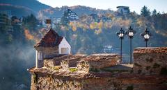 "Old fortress ""cetatuia"", brasov, romania Stock Photos"