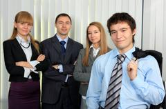 Business command. - stock photo