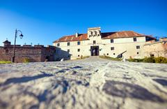 "old fortress ""cetatuia"", brasov, romania - stock photo"