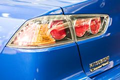 Stock Photo of Mitsubishi Tail Light Close Up
