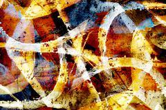 Close up grunge graffiti background Stock Illustration